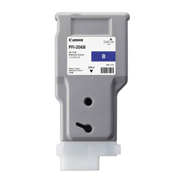 Canon PFI-206B Blue OEM Ink Cartridge