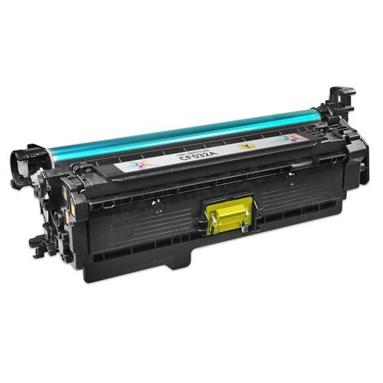 Remanufactured Replacement Yellow Laser Toner for HP 646A