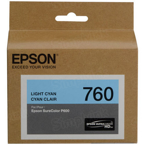 OEM T760520 Light Cyan Ink for Epson