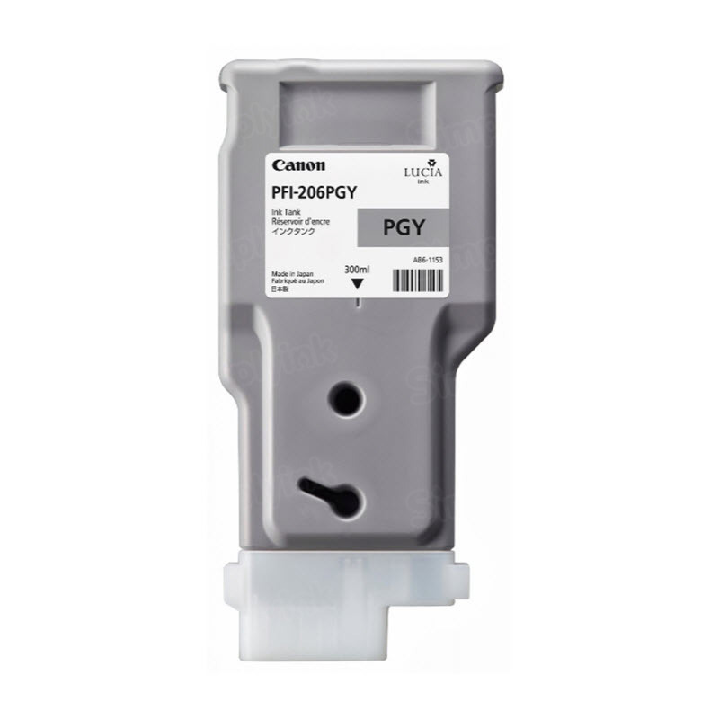 Canon PFI-206PGY Photo Gray OEM Ink Cartridge