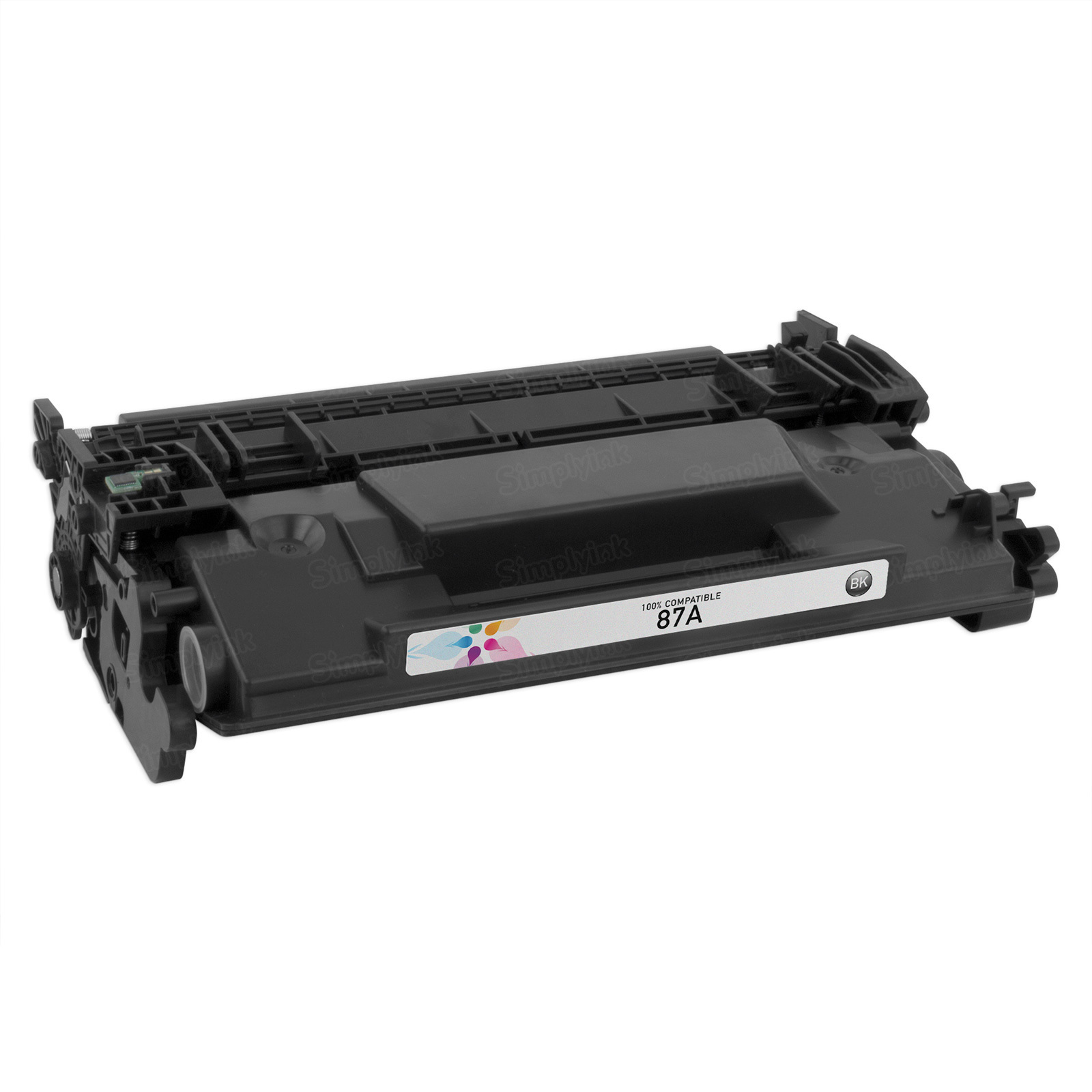 Compatible Brand Black Laser Toner for HP 87A