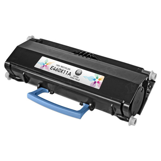 Remanufactured E460X11A Extra HY Black Toner for Lexmark