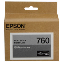 OEM Epson T760720 25.9ml UltraChrome HD Light Black Ink Cartridge