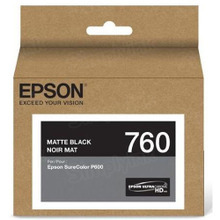 OEM Epson T760820 25.9ml UltraChrome HD Matte Black Ink Cartridge