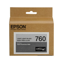 OEM Epson T760920 25.9ml UltraChrome HD Light Light Black Ink Cartridge