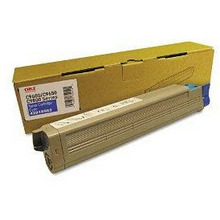 Okidata OEM Cyan 43837127 Toner Cartridge 16.5K Page Yield