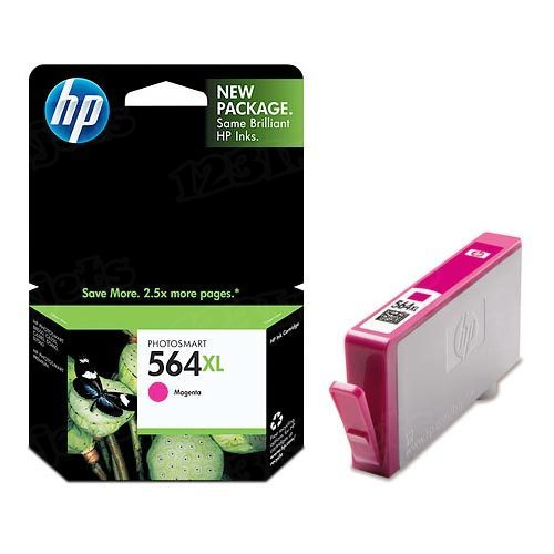 HP 564XL Magenta Original Ink Cartridge CB324WN