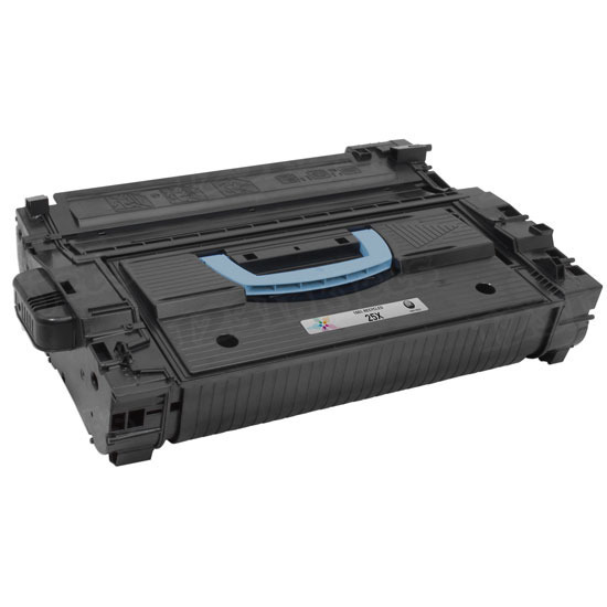 Remanufactured Replacement Black Laser Toner for HP 25X