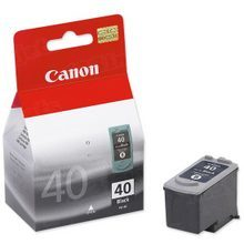 Canon PG-40 Black OEM Ink Cartridge, 0615B002