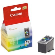 Canon CL-41 Tri-Color OEM Ink Cartridge, 0617B002