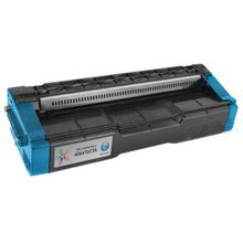 Compatible Ricoh 406476 High Yield Cyan Laser Toner Cartridges