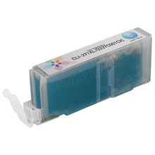 Canon (CLI-271XL) Cyan Compatible Ink Cartridge, 0337C001