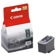 Canon PG-50 Black OEM High-Yield Ink Cartridge, 0616B002