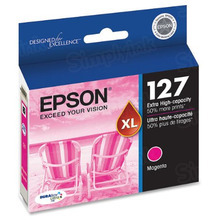 Original Epson 127 Magenta Inkjet Cartridge (T127320), Extra High-Capacity