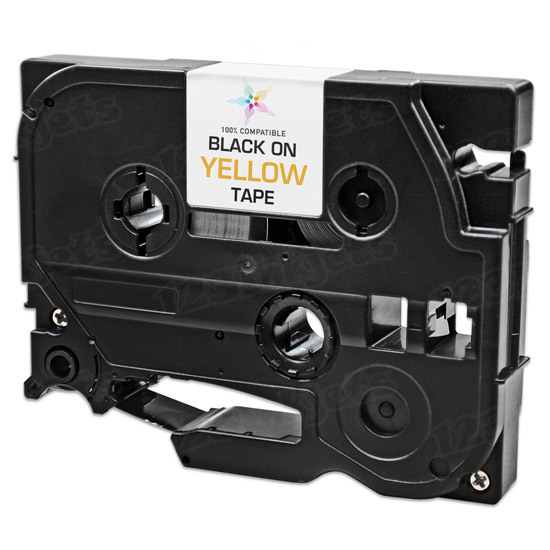 Compatible Replacement for Brother TZe631 Black on Yellow Tape for the P-Touch