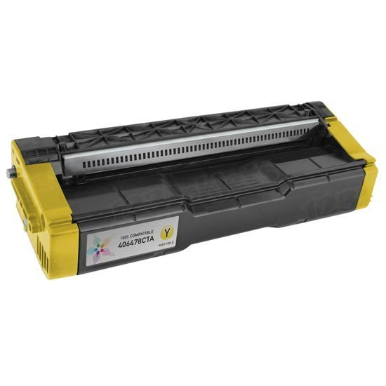 Ricoh Compatible 406478 HY Yellow Toner