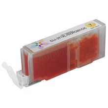 Canon (CLI-271XL) Yellow Compatible Ink Cartridge, 0339C001