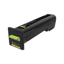 Lexmark OEM Extra High Yield Yellow Laser Toner Cartridge, 72K1XY0 (CS820) (22,000 Page Yield)u00a0