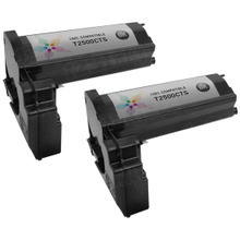 Compatible Toshiba T-2500 Black Laser Toner Cartridges 2-Pack