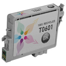 Remanufactured Epson T060120 (T0601) Black Ink Cartridges