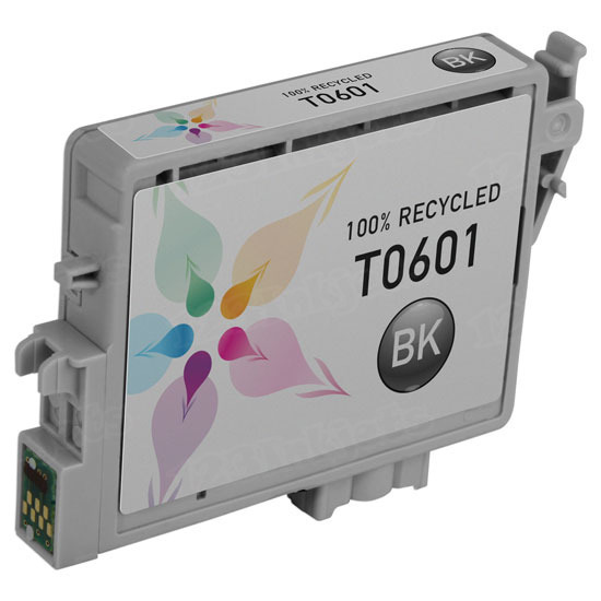 Epson Remanufactured T060120 Black Inkjet Cartridge