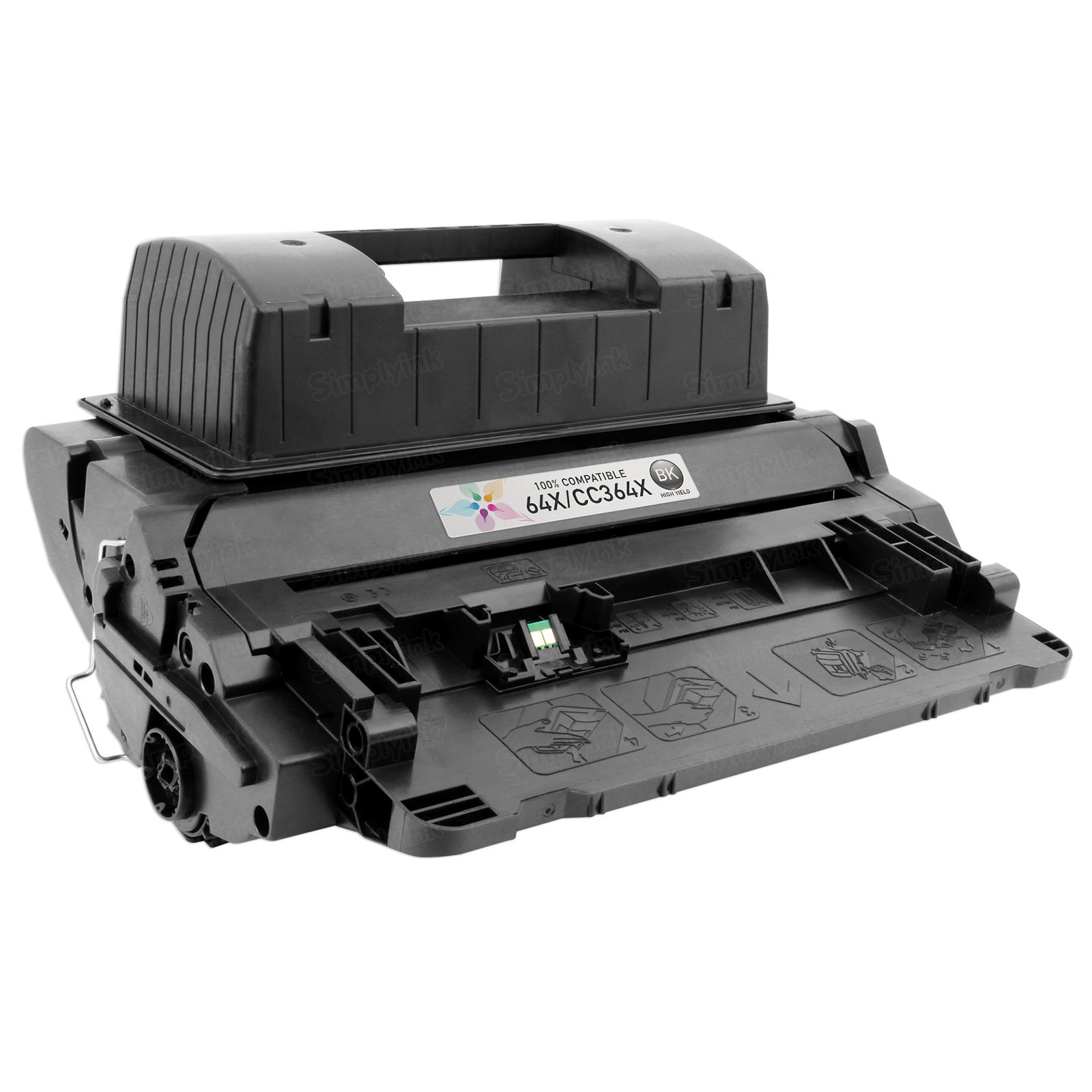 Compatible Brand HY Black Laser Toner for HP 64X