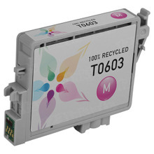 Remanufactured Epson T060320 (T0603) Magenta Ink Cartridges