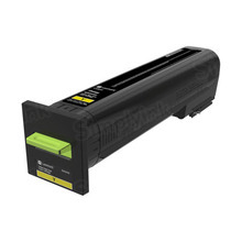 Lexmark OEM High Yield Yellow Laser Toner Cartridge, 82K0H40 (CX820) (17,000 Page Yield)u00a0