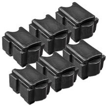 Compatible Xerox Set of 6 Black 108R01017 Solid Ink Blocks for the ColorQube 8900
