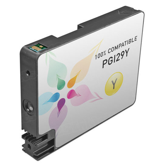 Canon Compatible PGI-29Y Yellow Ink
