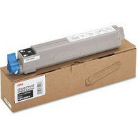 Okidata OEM Black 43837128 Toner Cartridge 18.5K Page Yield