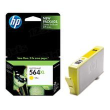 Genuine HP 564XL Yellow Ink Cartridge in Retail Packaging (CB325WN) High-Yield
