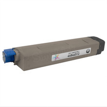 Compatible Black Laser Toner Cartridge (10k) for Okidata 44844512 - C831