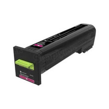 Lexmark OEM High Yield Magenta Laser Toner Cartridge, 82K1HM0 (CS820 and CX825) (17,000 Page Yield)u00a0