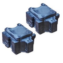 Compatible Xerox Set of 2 Cyan 108R00990 Solid Ink Blocks for the ColorQube 8700