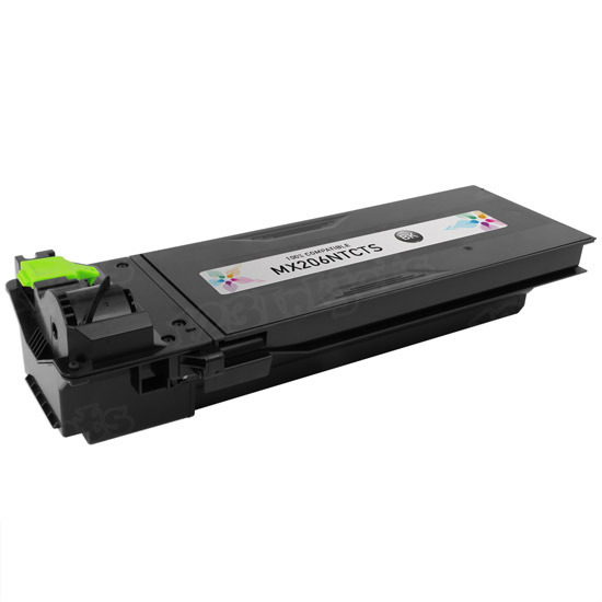 Sharp Compatible MX206NT Black Toner