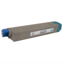 Compatible Cyan Laser Toner Cartridge (10k) for Okidata 44844511 - C831