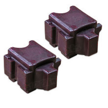 Compatible Xerox Set of 2 Magenta 108R00991 Solid Ink Blocks for the ColorQube 8700