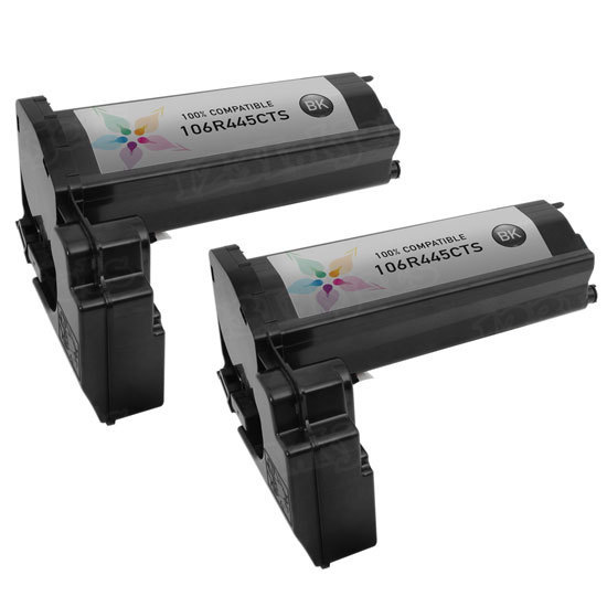 Compatible Xerox 106R445 Black Toner