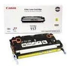Canon CRG117 (4,000 Pages) High Yield Yellow Laser Toner Cartridge - OEM 2575B001AA