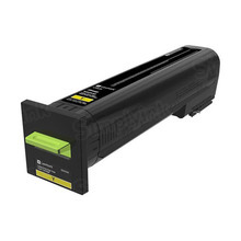 Lexmark OEM Extra High Yield Yellow Laser Toner Cartridge, 82K0X40 (CS820 and CX860) (22,000 Page Yield)u00a0