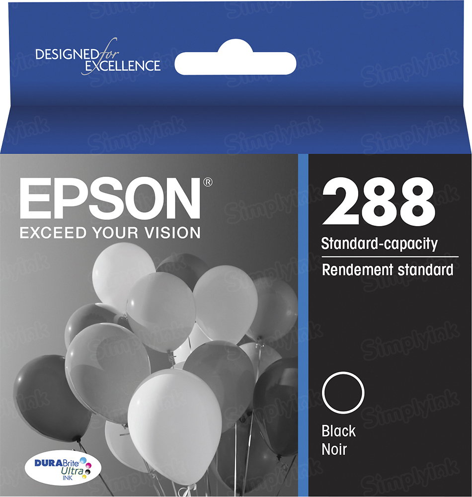 OEM 288 Black Ink for Epson