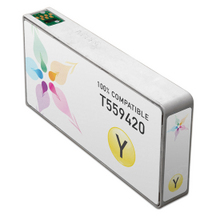 Remanufactured Epson T559420 (T5594) Yellow Ink Cartridges