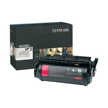 Lexmark OEM Extra High Yield Black Laser Toner Cartridge, 12A7365 (T630/T632/X630) (32,000 Page Yield)