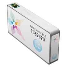 Remanufactured Epson T559520 (T5595) Light Cyan Ink Cartridges