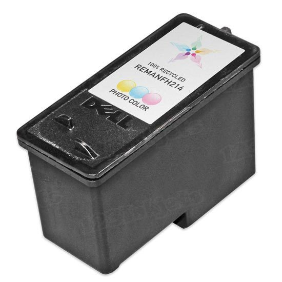 Remanufactured Ink Cartridge for Dell FH214 Photo Series 7
