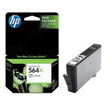 Genuine HP 564XL Photo Black Ink Cartridge in Retail Packaging (CB322WN) High-Yield