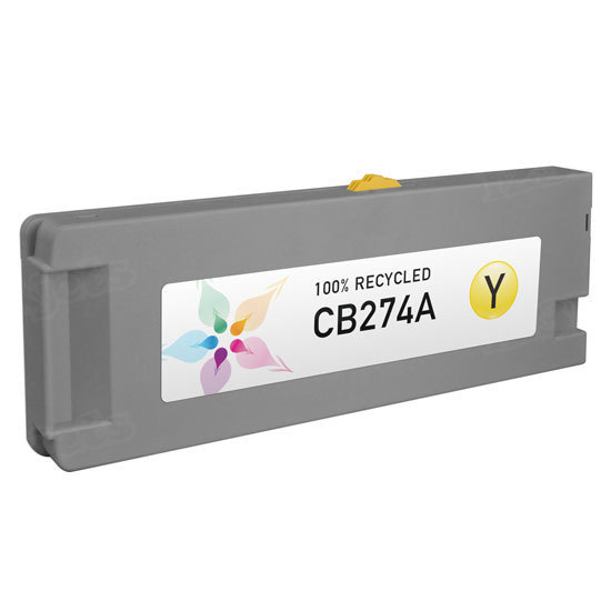 Remanufactured Replacement Yellow Ink for HP 790