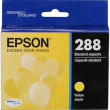 OEM Epson T288420 (288) DuraBrite Ultra Pigment Ink Yellow Ink Cartridge