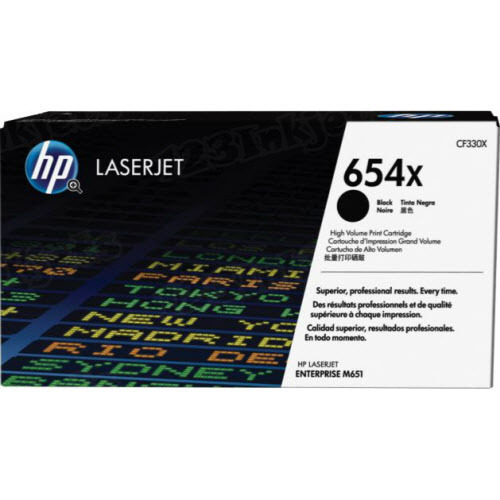 Original HP CF330X (654X) HY Black Toner